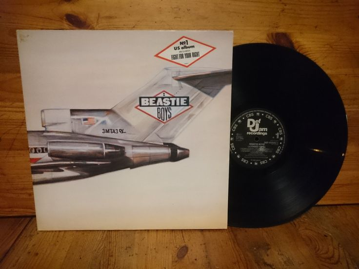Beastie Boys Vinyl Licensed To Ill 1986 Hip Hop Record Def Jam Recordings Classic