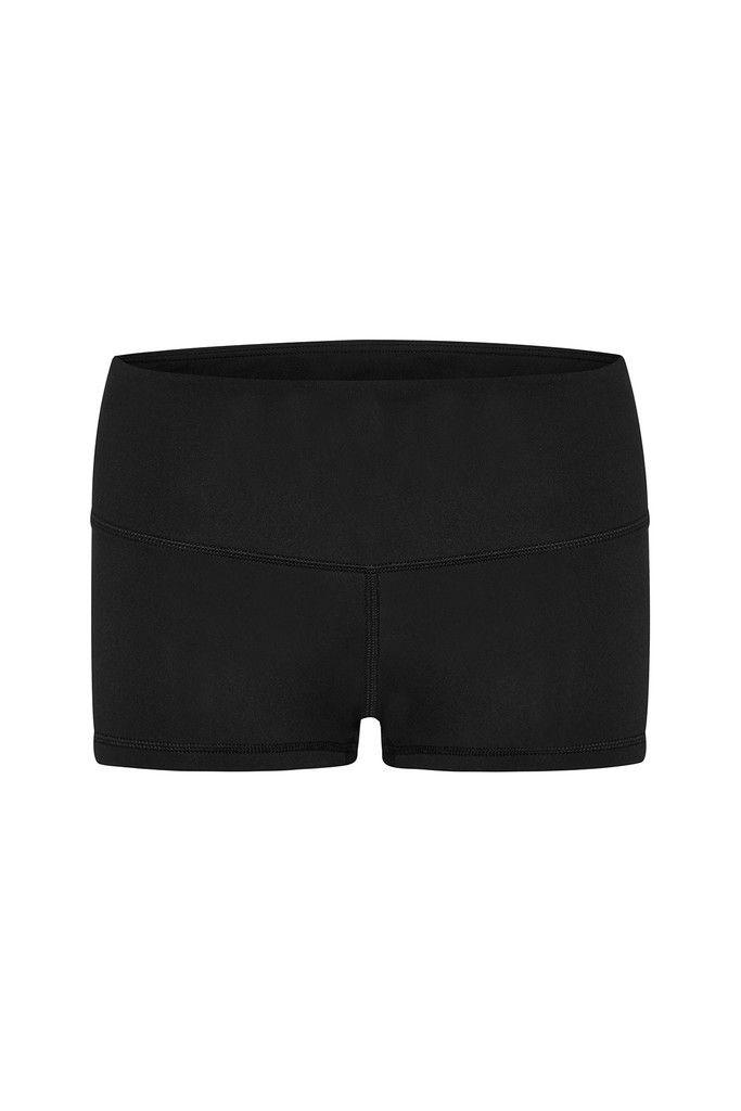 Black Cheeky Shorts – Dharma Bums Yoga and Activewear