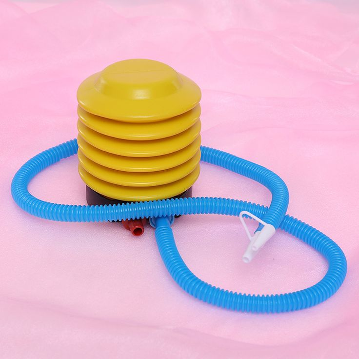 Balloon Inflatable Pump Practical Plastic Foot Air Pump Portable Air Pump Inflator For Swimming Ring Accessories