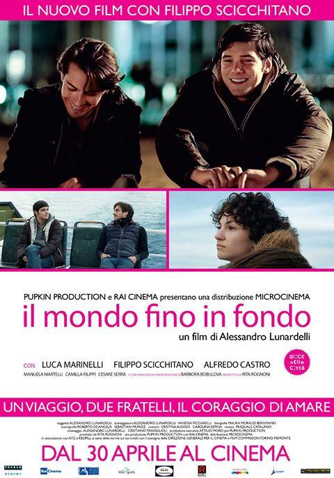 """IL MONDO FINO IN FONDO Interessante esordio nel panorama del cinema italiano: c'è un tema delicato, come l'amore omosessuale; un altro più universale, come il legame fraterno; e un altro ancora, più defilato, come la crisi industriale; il tutto ben amalgamato in un contesto originale ed esotico come il sud del Cile. Proprio l'ambientazione e la presenza di Castro evocano suggestioni di un certo cinema latino-americano. RSVP: """"Crystal Fairy..."""", """"Cosa piove dal cielo?"""". Voto: 7,5."""