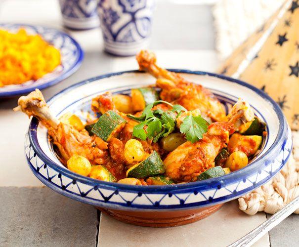 Kip tajine | Light koken.  Wil je meer tijd om lekker te koken? schakel een Hulpstudent in! www.hulpstudent.nl