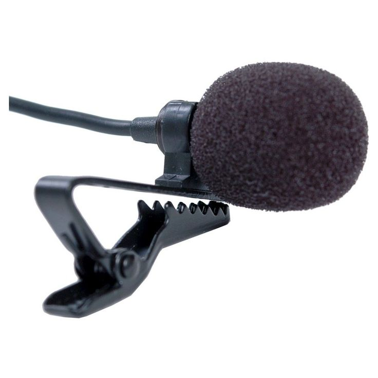 Smith-Victor Condenser Microphone with Low signal to Noise Ratio - Black (SV-LVM1)