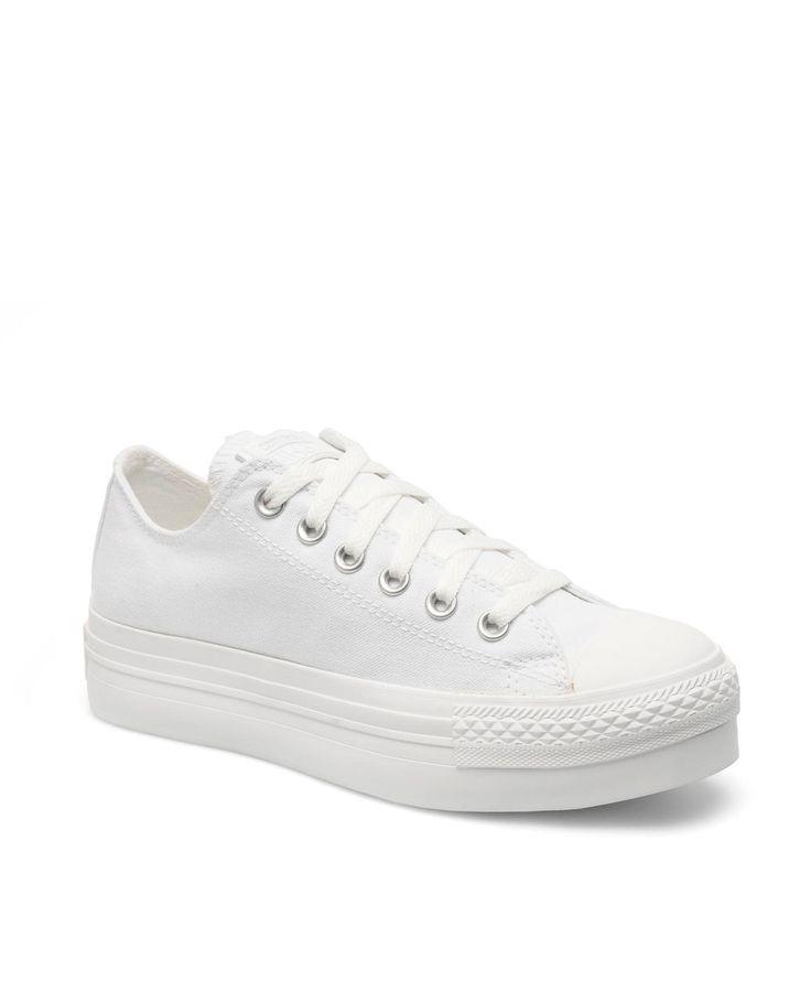 Zapatillas plataforma CONVERSE CHUCK TAYLOR blanco