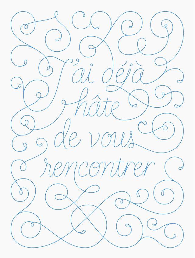 Thierry Fétiveau, design graphique et typographie - Lettrage book