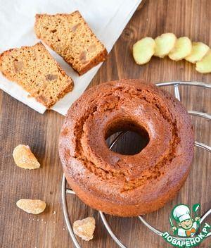 Имбирно-медовый кейк
