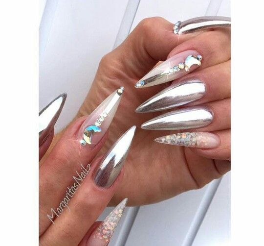 81 best Nails Efecto Espejo images on Pinterest Pretty nails, Gel