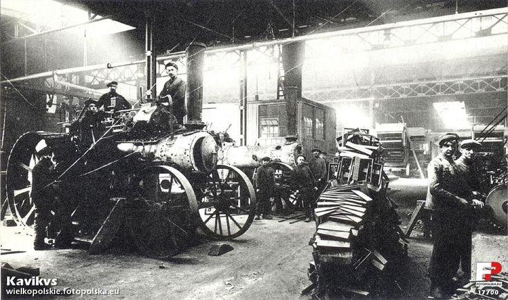 H. Cegielski - Poznań S.A. (H. Cegielski ), Poznań - 1921 rok, stare zdjęcia