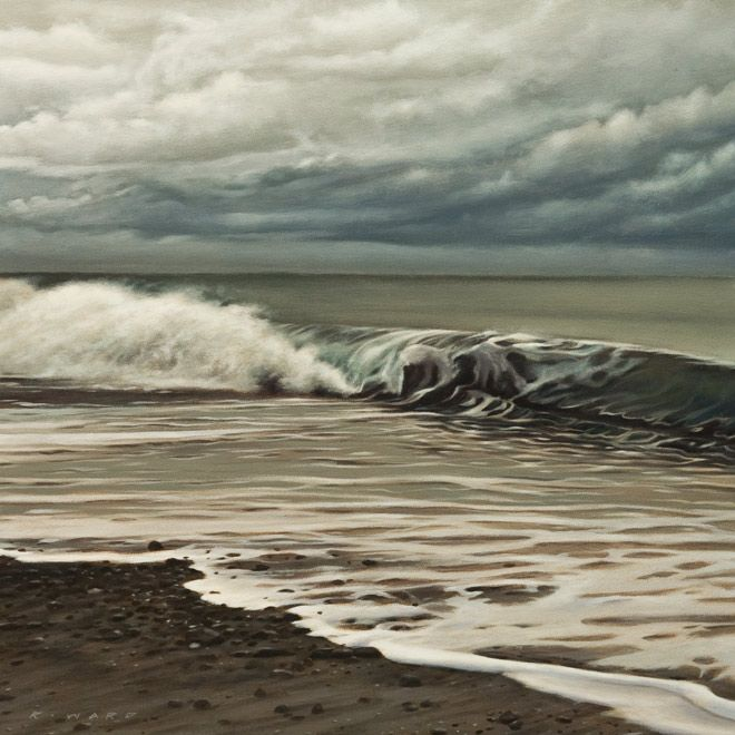 Shore Break, by Ray Ward
