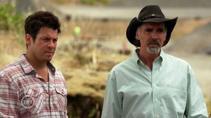 "#ChristianKane and Jeff Fahey from The Librarians S2 epi 3 ""And what Lies Beneath The Stones"""
