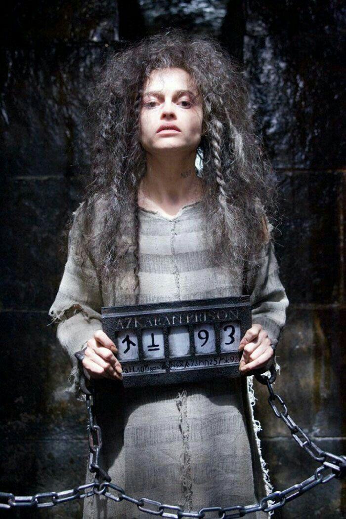 Helena Bonham Carter As Bellatrix Lestrange Prisoner Of Azkaban Harry Potter Harry Potter Bellatrix Lestrange Harry Potter Films Harry Potter Cosplay