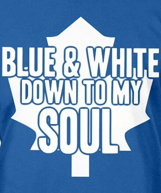 Yeppers! GO LEAFS GO!