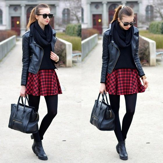 Best 25+ Tartan skirt outfit ideas on Pinterest | Womens ...