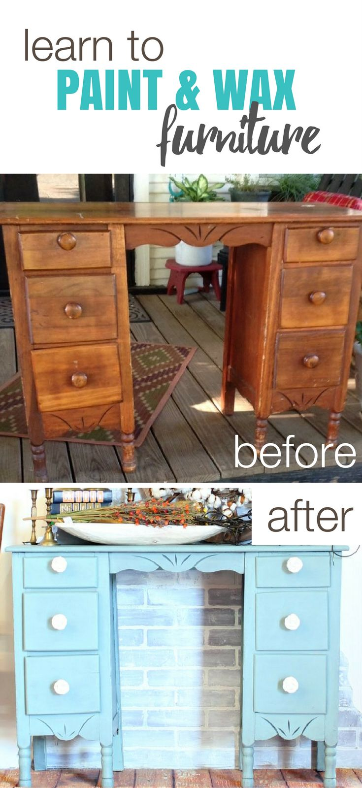 571 Best Furniture Painting Tips Images On Pinterest Furniture Makeover Furniture Redo And
