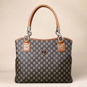 Leather Totes Handbag With Top Zip Closure - Handbags - handbag shop