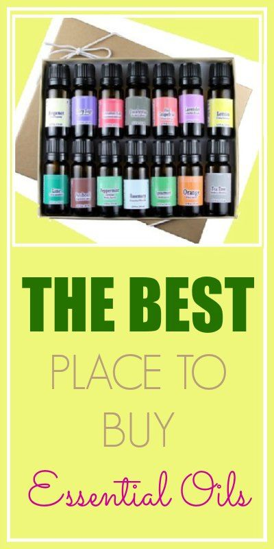 The BEST Places to Buy Essential Oils