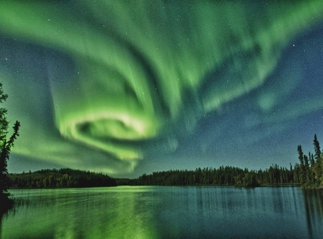 Northern Lights, La Ronge, Saskatchewan ~ I will see this in person one day