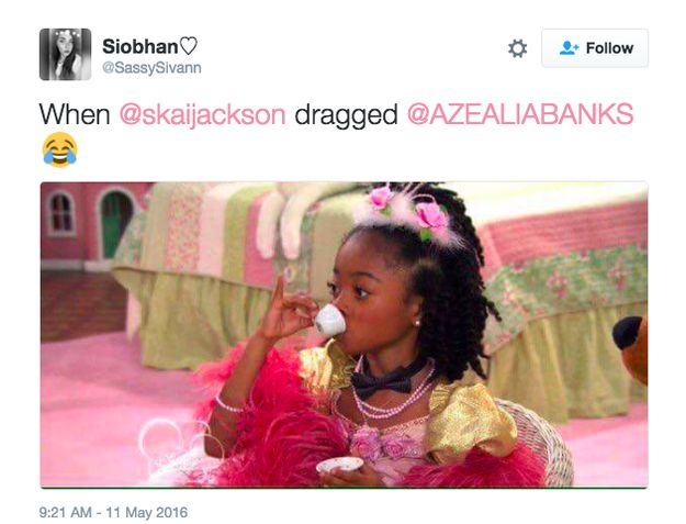 14-Year-Old Skai Jackson Dragged Azealia Banks And The Internet Is Living For It