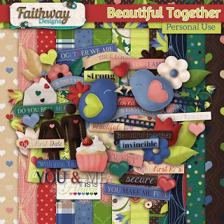 Monday's Guest Freebies ~ Faithway Designs ✿ Follow the Free Digital Scrapbook board for daily freebies: https://www.pinterest.com/sherylcsjohnson/free-digital-scrapbook/ ✿ Visit GrannyEnchanted.Com for thousands of digital scrapbook freebies. ✿
