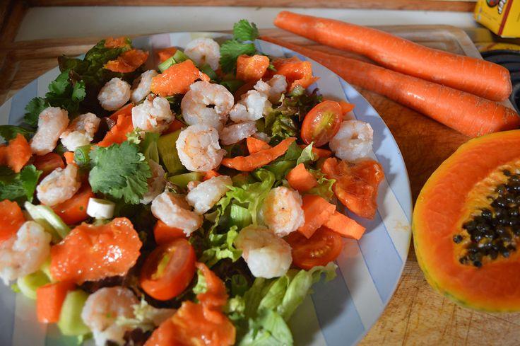 Tropical Shrimp Salad Recipe