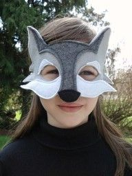 diy kids wolf costume - Google Search