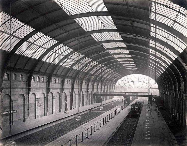 High Street Kensington, 1868.