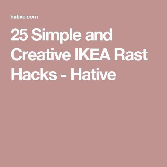 25 Simple and Creative IKEA Rast Hacks - Hative
