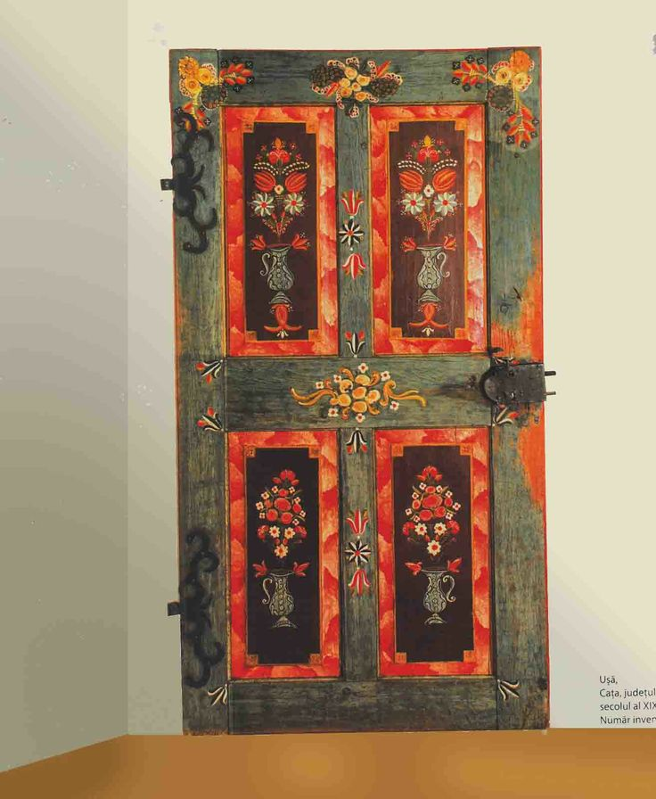 Book 100 PIX Transylvanian Folk Furniture Painted Romanian German Saxon Hungary | eBay