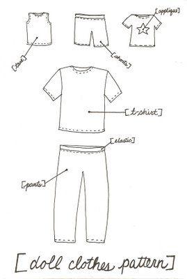 Snazzle Craft: Waldorf Boy Doll - w/ clothes pattern!