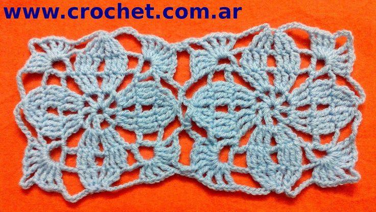 Union del Motivo n° 3 granny square en tejido crochet tutorial paso a paso.
