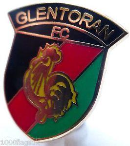 Soccer Club badge - Glentoran
