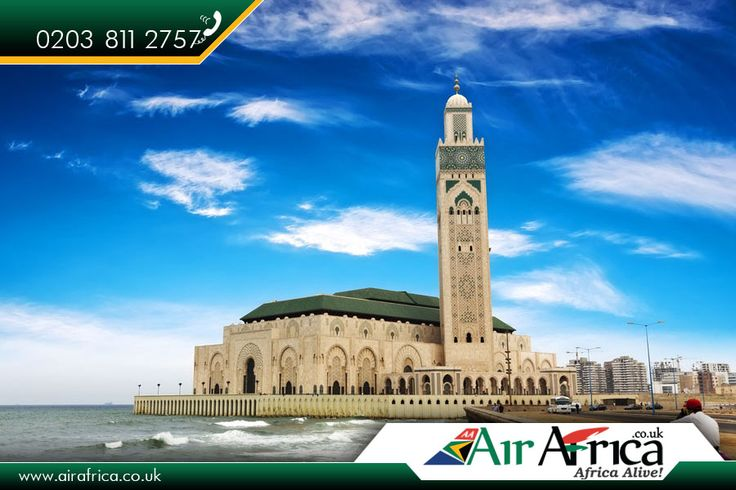 Hassan ii Mosque     The Hassan II Mosque or Grande Mosquée Hassan II is a mosque in Casablanca, #Morocco.    Source : https://en.wikipedia.org/wiki/Hassan_II_Mosque     Book your #cheapflight tickets with Travel #Specialists: http://www.airafrica.co.uk/     #airafrica #africantravel #africantravelspecialists #hassaniimosque #flights #travel #flightstoafrica #africantravelexperts