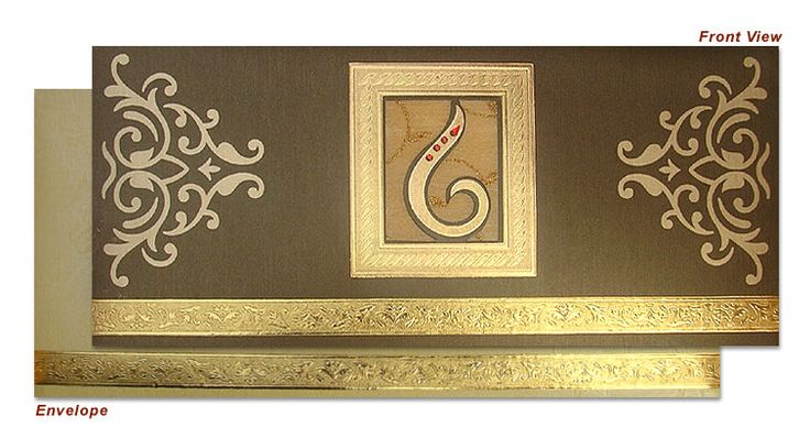 Triveni Wedding Card Shoppe, Complete view of the Indian Wedding Invitation