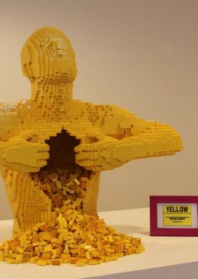 The Art of the Brick Exhibit - LEGO like you've never seen them before.