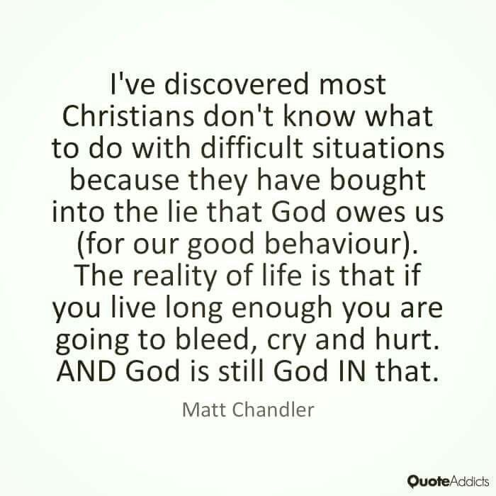 christian quotes | Matt Chandler quotes | suffering
