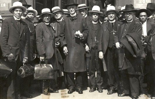 Priests returning to Mexico after the Cristero War, 1929