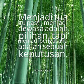 Quote dari salah satu penulis buku #CeritaGila Pengusaha Muda Indonesia
