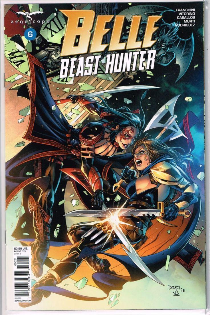 Belle Beast Hunter #2 Cover A NM 2018 Zenescope Vault 35