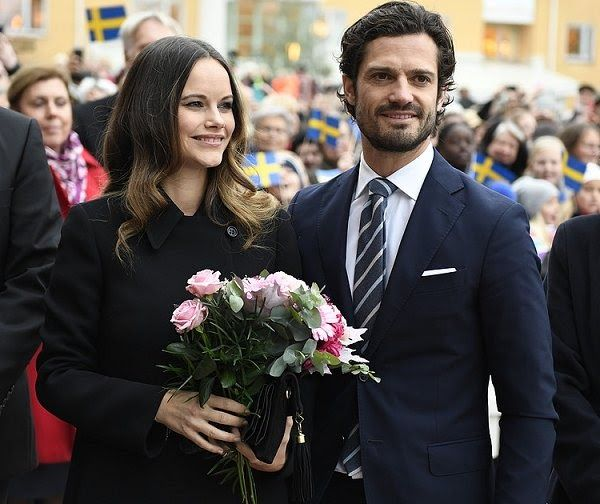 On October 21, 2016, Prince Carl Philip of Sweden and his wife Princess Sofia of Sweden (Duke and Duchess of Värmland) are currently in Kar...