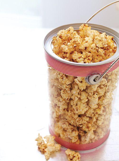 Popcorn cajun Recettes | Ricardo Pour le mélange d'épices, sans le beurre