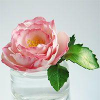 """Как сделать миниатюрную розу """"Мини Бока"""" из фоамирана"""