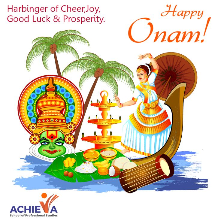 The Celebration of Good fortune and Thanks Giving! Visit us @ http://amp.gs/p9Ad #Onam #Achieva