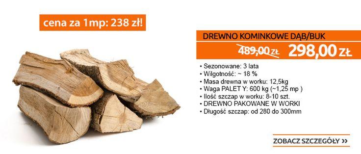Ta promocja Cię rozgrzeje! Drewno kominkowe aż 40% TANIEJ! :)