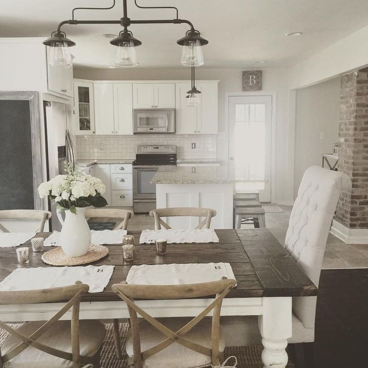 Awesome 40 Delightful Diy Farmhouse Kitchen Decorating Ideas. More At  Https://trendhomy