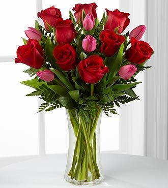 The FTD® Love Wonder™ Bouquet - VASE INCLUDED-Premium