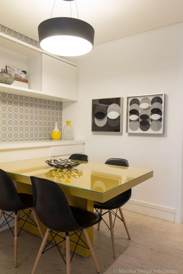 Decoração de Interiores em Apartamento em Perdizes - Decoradora Marilia Veiga