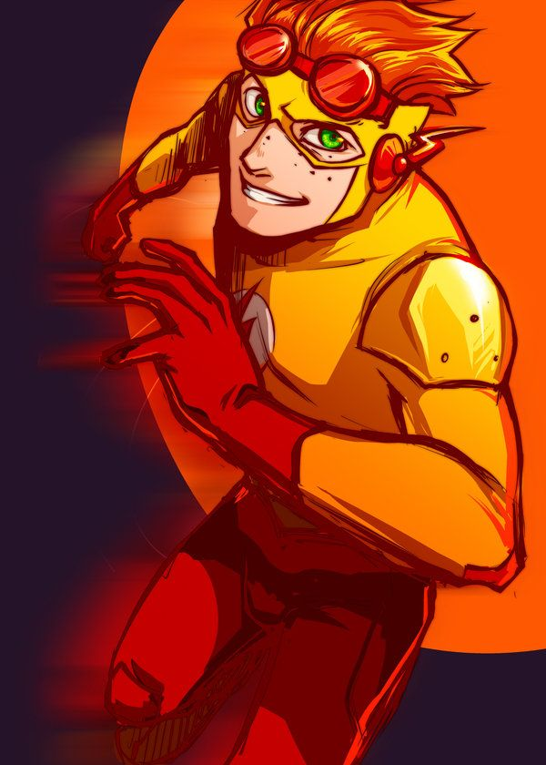 Young Justice / Wally West (Kid Flash) / Gosh, I love Wally so much!