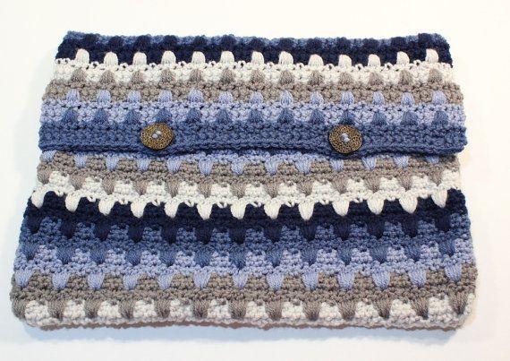 Crochet Pattern Crochet Laptop Sleeve Pattern by Kimberlees Korner
