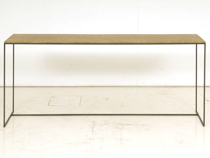 Téléchargez le catalogue et demandez les prix de table console rectangulaire en bois Gigogne, design Janine Vandebosch au fabricant Interni Edition