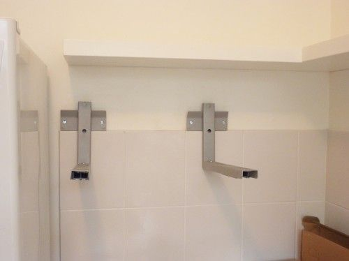 Find This Pin And More On Microwave Building A Custom Floating Shelf