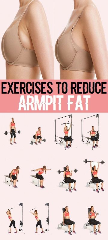 Effective Exercises to Reduce Armpit Fat..